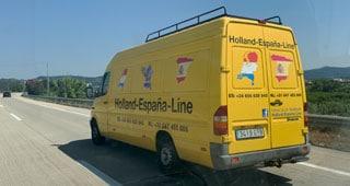 Transporter Spanien